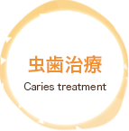 虫歯治療 Caries treatment